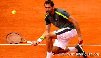 Marin Cilic reveals how he is coping with clay season cancellation - Tennis World USA