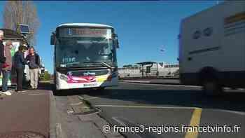 """Tarnos : la manifestation du collectif """"Touche pas à mon bus"""" - France 3 Régions"""