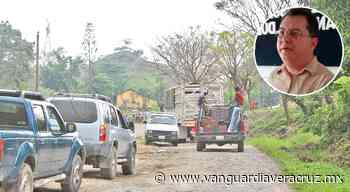 Intransitable la carretera Huimanguillo - Hueytepec , el Tecolutla - Vanguardia de Veracruz