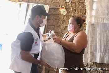 Habitantes de Ariguaní reciben ayuda humanitaria de la Alcaldía - El Informador - Santa Marta