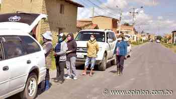 Punata: buscan comida de noche y a escondidas - Opinión Bolivia