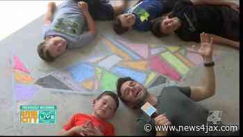 Make Your Own Chalk Mosaic! | River City Live - WJXT News4JAX