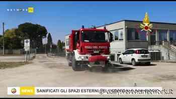 Sanificate le aree esterne dell'Ospedale di Bovolone - Daily Verona Network