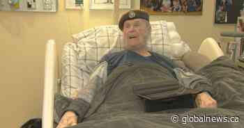 Second World War veteran denounces slow COVID-19 reaction at Ste. Anne's Hospital - Global News