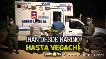 En Vegachí, autoridades capturaron a dos hombres que utilizaron una ambulancia como transporte público - Minuto30.com