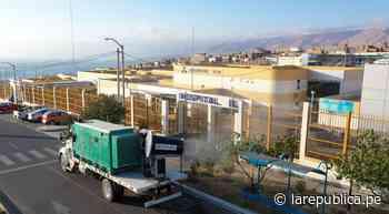 Moquegua: Empresa minera desinfecta hospitales de Ilo para evitar el contagio de COVID-19 - LaRepública.pe