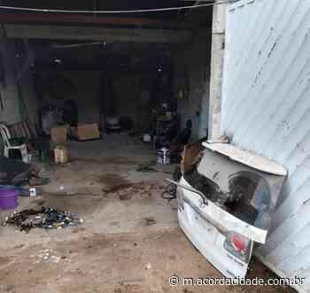 Dilton Coutinho | Polícia estoura desmanche em Campo Formoso - Acorda Cidade
