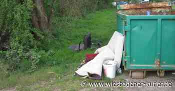 Müll in Geisenheim illegal entsorgt - Wiesbadener Kurier