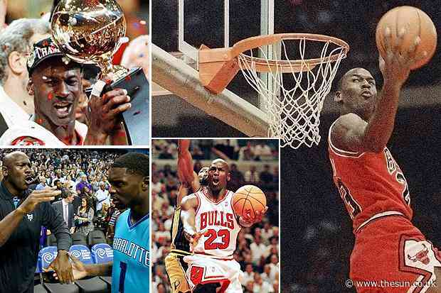 The Last Dance: As Michael Jordan docu-series drops we take a look back at his astonishing career, on and off the court