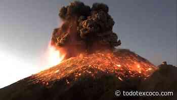 ¡Lo que nos faltaba! El Popocatépetl hace erupción - todotexcoco.com