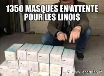 L'ex-maire de Linas François Pelletant reçoit et organise… la distribution de masques de la région - Le Parisien