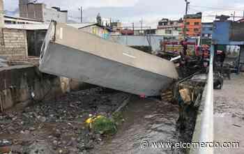 Desbordamiento de río deja viviendas afectadas en Quito en medio de la cuarentena por el covid-19 - El Comercio (Ecuador)