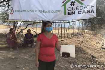 Inician comisarios una red sanitaria entre pueblos de Huitzuco para detener el virus - El Sur de Acapulco