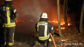 Brand bei Bad Urach: Shishapfeife verursacht mutmaßlich Flächenbrand am Hanner Felsen - SWP