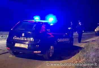 BOSCONERO - In auto senza motivo nel cuore della notte non si ferma all'alt dei carabinieri: inseguito, multato e denunciato - QC QuotidianoCanavese