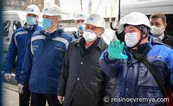 Rustam Minnikhanov pays a working visit to Nizhnekamsk - Realnoe vremya