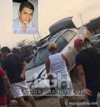 Una persona muerta y otra herida deja accidente de tránsito en vía Papayal-Barrancas - La Guajira Hoy.com