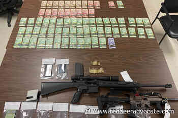 Rocky Mountain House RCMP seize guns, more than $14K in cash after curfew check - Red Deer Advocate