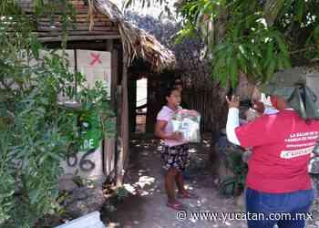 Se entregan 6,500 paquetes en Peto - El Diario de Yucatán