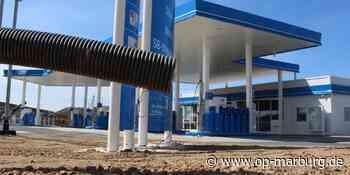 Tankstelle - Autohof öffnet in vier Wochen - Oberhessische Presse