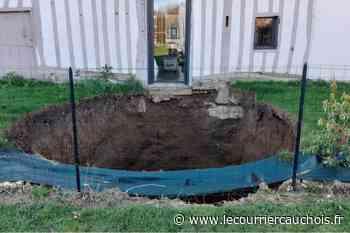 """La Chapelle-sur-Dun. Une cavité souterraine menace leur maison : """"Elle tient sur 11 mètres de terre"""" - Le Courrier Cauchois"""