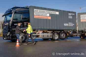 Fahrerausbildung: Lernen auf dem neuen Actros - Transport - Die Zeitung für den Güterverkehr