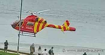 Southend-on-Sea Chalkwell Beach: Air ambulance lands on Essex beach following 'incident' near coast - Essex Live