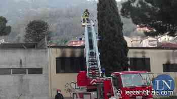Calolziocorte, incendio al panificio Valsecchi: pompieri al lavoro - Lecco Notizie