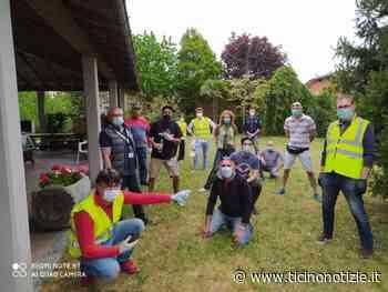 Bareggio, Amministrazione & alpini: 17mila mascherine distribuite nel fine settimana - Ticino Notizie