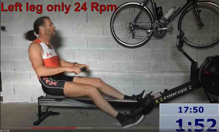 Cardio Exercise: Legs only on your erg