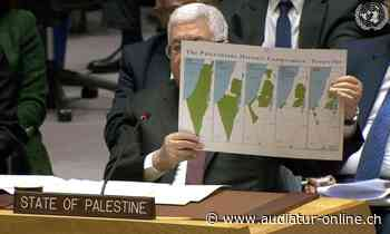 Mahmoud Abbas' Lügenkarte - Audiatur-Online