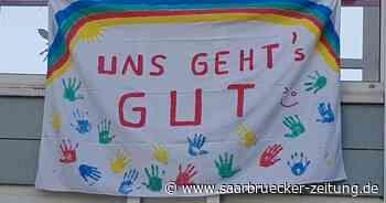 Bewohner der Seniorenresidenz in Mettlach machen mit froher Botschaft Mut - Saarbrücker Zeitung