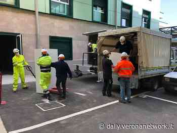 Allestito dagli alpini veronesi un laboratorio di analisi a Villafranca - Daily Verona Network