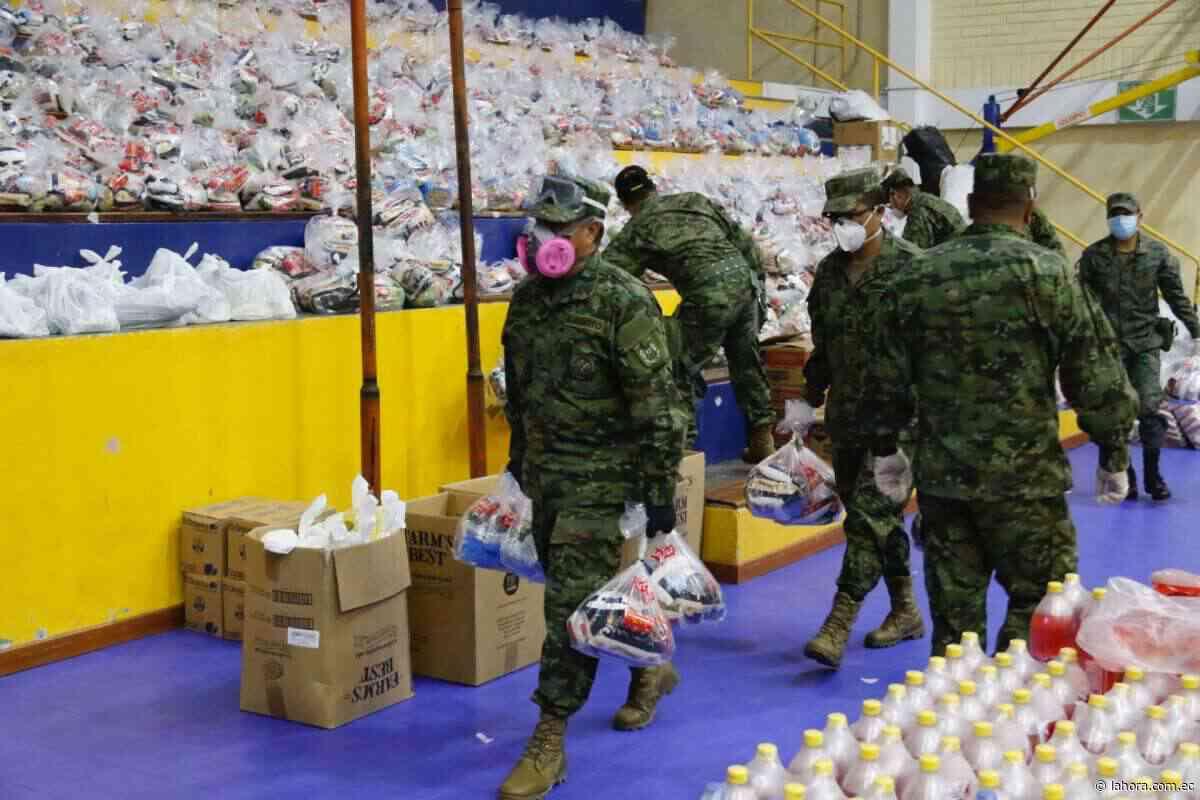 El virus vuelve a sacar el lado solidario del quiteño - La Hora - La Hora (Ecuador)