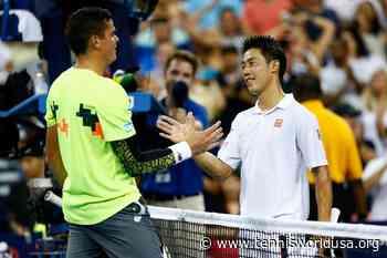 Kei Nishikori speaks highly of Milos Raonic, Grigor Dimitrov - Tennis World USA