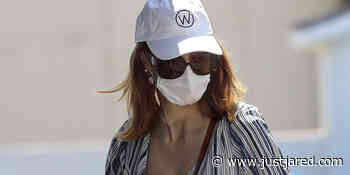 Jessica Chastain Wears a Mask & Gloves While Shopping for Baby Essentials - Just Jared