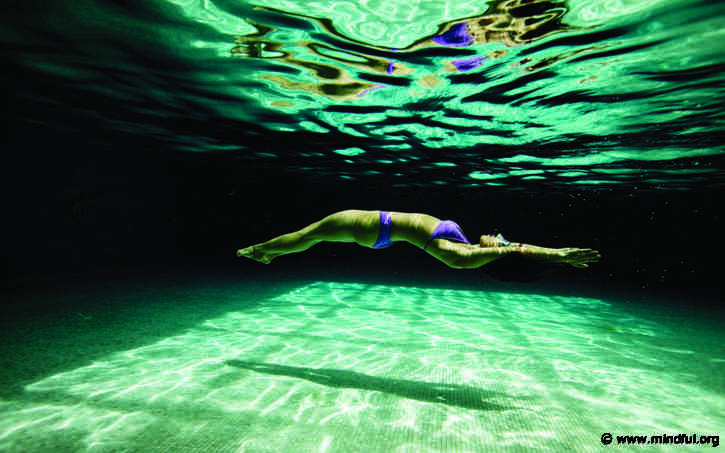 What Swimming Taught Me About Self-Compassion and Letting Go