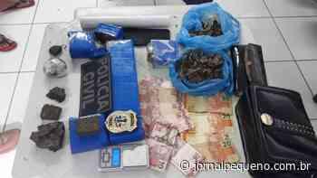 Mulher é presa em Bacabal por tráfico de drogas - Jornal Pequeno