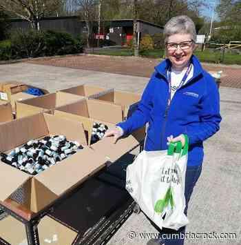 Rosemere's Julie packs it in to help NHS heroes - Cumbria Crack