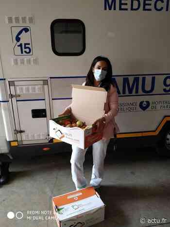 Val-d'Oise. Ermont. Une tonne de fruits offerts aux personnels soignants ! - La Gazette du Val d'Oise - L'Echo Régional