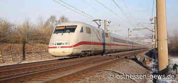 ICE-Trasse: Ausbau zwischen Gelnhausen und Fulda nimmt wichtige Hürde - Osthessen News