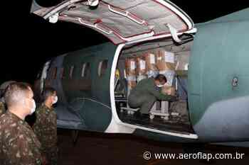 FAB transporta respiradores de Macapá (AP) para Lagoa Santa (MG) - Aeroflap