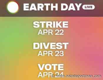 Natalie Portman Joins Earth Day Live Stream