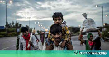 Foto: Pekerja di New Delhi Pulang ke Desa Demi Cukupi Kebutuhan Sehari-hari - kumparan.com - kumparan.com