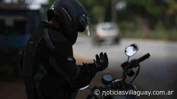 Concordia: Motociclista se salva de morir degollado por una piola que atravesaba la calle - Noticias de Villaguay
