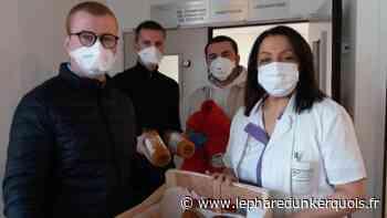 Coudekerque-Branche : petits pains pour les soignants de la Clinique de Flandre - Le Phare dunkerquois