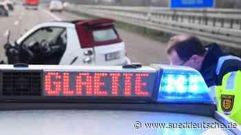 Mehrere Unfälle wegen Glatteis im Südwesten - Süddeutsche Zeitung