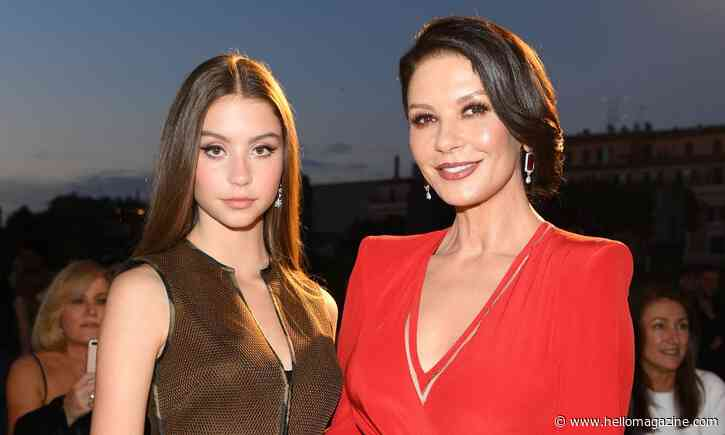Catherine Zeta-Jones shares previously unseen photos of daughter Carys on her birthday - HELLO!