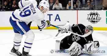 Jason Spezza believes rocky season will benefit young Maple Leafs - Dawson Creek Mirror