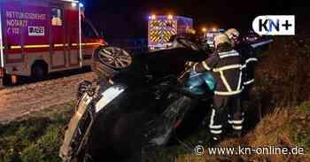 Unfall bei Lensahn - Hagelschauer: Autos schleudern von der A1 - Kieler Nachrichten